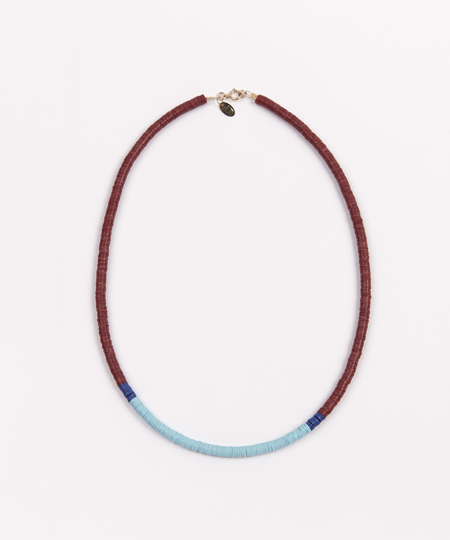 collier azul