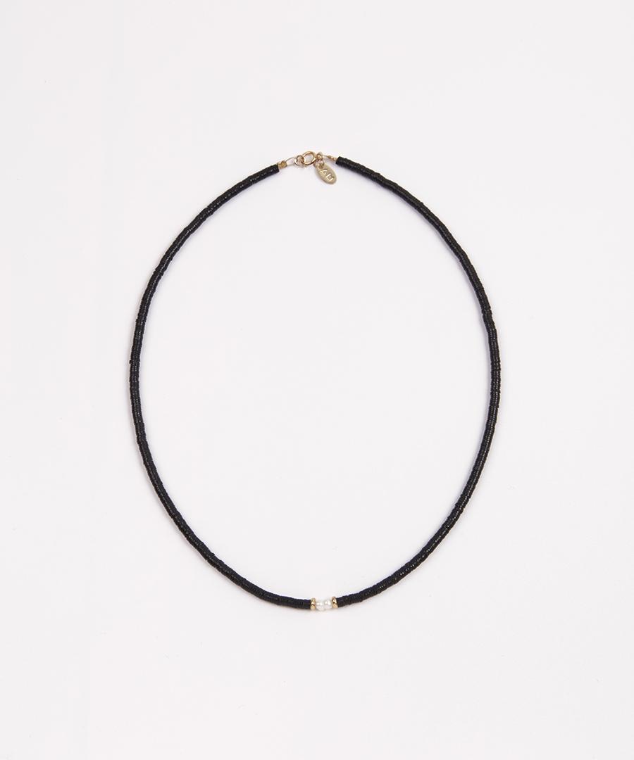 collier josei noir